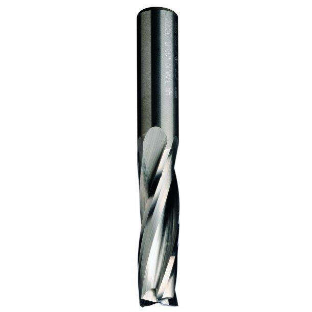 Sletfræser HM  8 x 32/80 mm. K8 Z3 Højre, pos. skær