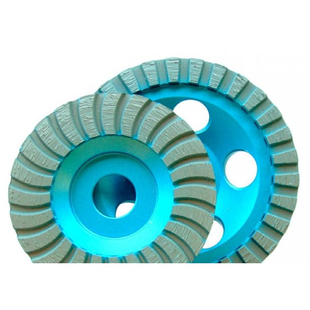 Diamant slibeskive/-skål TURBO 100 x22,2mm