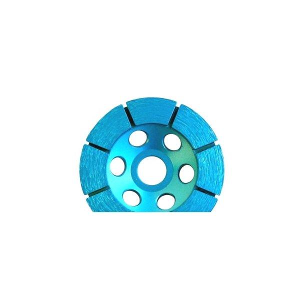 Diamant slibeskive/-skål BS Medium 125x22,2mm