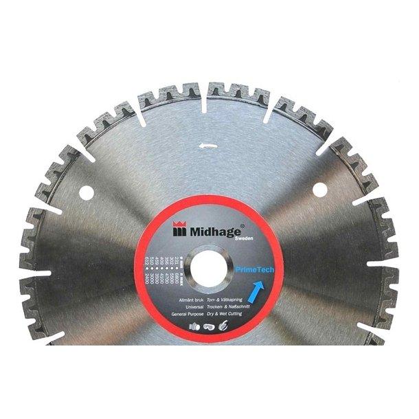 Diamant skæreskive Primetech 300x2,8x22,2mm