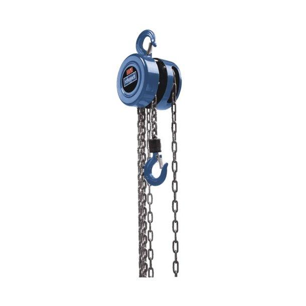 Kæde-/hejsetalje 1 ton, CB 01