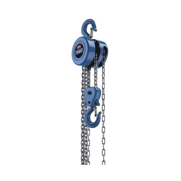 Kæde-/hejsetalje 2 ton, CB 02