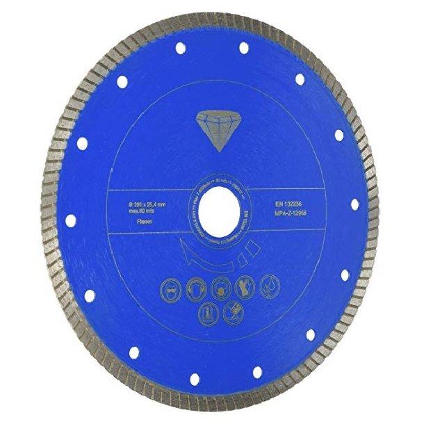 Diamantskæreskive proff. 200 x 25,4 mm. t/FS3600