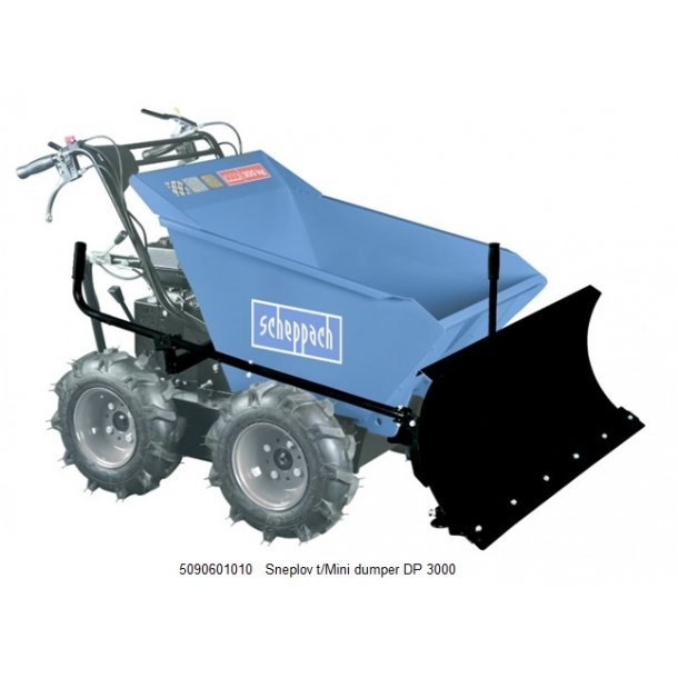 Sneplov t/Mini dumper DP 3000